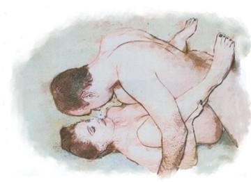 Sexy nude pregnant women having sex