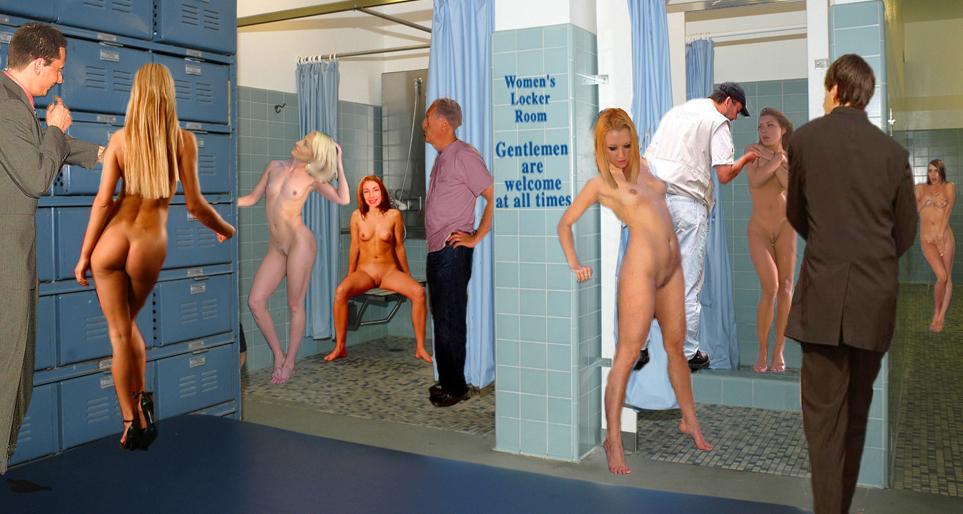 Nude Babes Locker Room